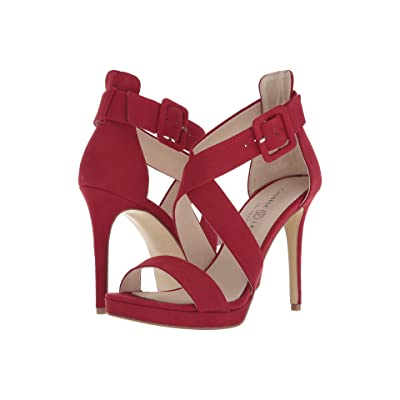 Chinese Laundry Foxie (Lollipop Red Microsuede) High Heels