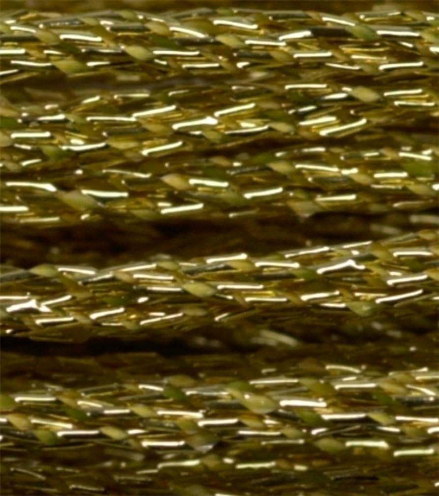 DMC Metallic Embroidery Floss 8.7yds Gold
