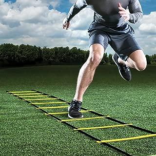 Faviye /Échelle de Rythme en Nylon Entra/înement dagilit/é /échelle de Rythme pour Sport Football Course Tennis