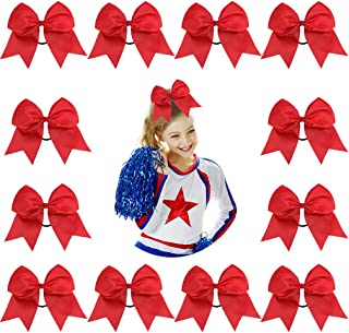 Best cheer bows red Reviews