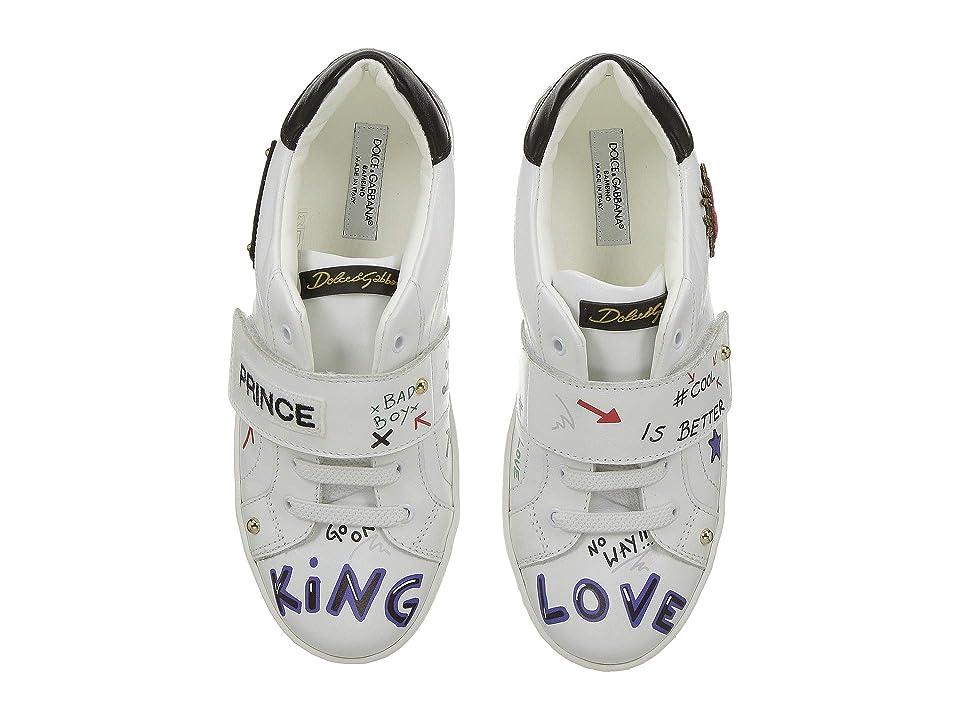 Dolce & Gabbana Kids Prince Sneaker (Little Kid/Big Kid) (White) Boy