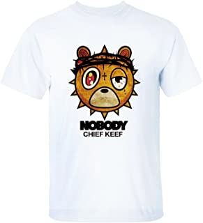 Men's Cotton Soft Chief Keef Nobody Short Sleeve T-Shirt