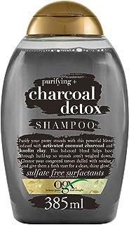 OGX Shampoo Purificante, Carbone Detox, per Capelli Grassi, 385 ml