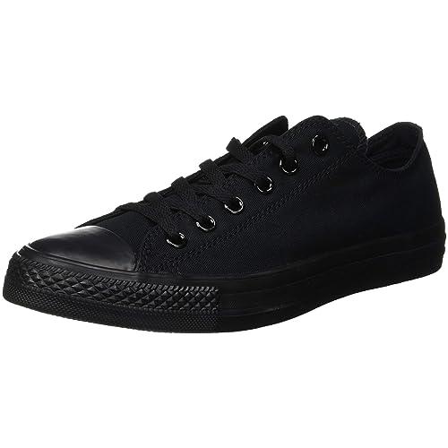 655906ae9f05c Full Black Converse: Amazon.co.uk