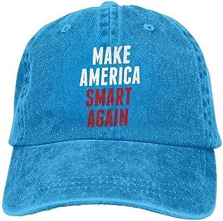 Make America Smart Again Dad Hat Adjustable Denim Hat Classic Baseball Cap