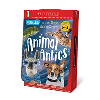 Grade 1 E-J Reader Box Set - Awesome Animals (Scholastic Early Learners)