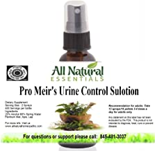 Pro Meir's Urine Control Sulotion 1oz Homeopathic Remedy, Bedwetting, Overactive Bladder Control, Stops Fre...