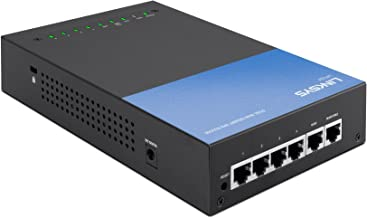 Linksys Business Dual WAN Gigabit VPN Router (LRT224) (Renewed)