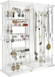 ARAD Earring Organizer, Necklace Holder, Jewelry Organizer, Bracelet Storage, Jewelry Holder, Jewelry Storage, Plastic Jew...