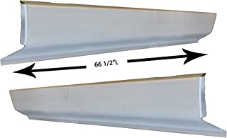 Classic 2 Current Fabrication Combo Kit compatible with 1984-2001 JEEP Cherokee Outer Rocker Panel /& Inner Rocker Panel Kit-LH