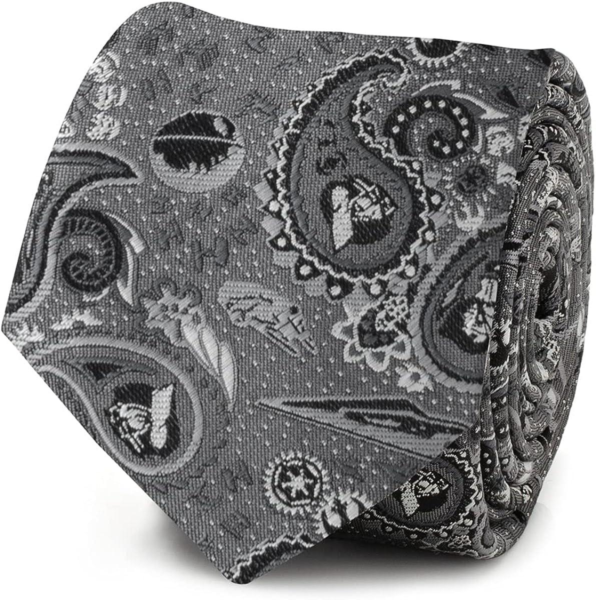 Vader Paisley Grey Men's Tie