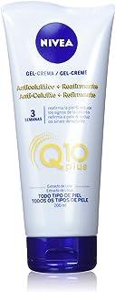 NIVEA Q10 Plus - Gel-Crema Anticelulítico + Reafirmante, para Reducir los Signos de la Celulitis, de Cuidado Corporal - 1 x 200 ml
