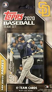 San Diego Padres 2020 Topps Factory Sealed Special Edition 17 Card Team Set with Manny Machado and Fernando Tatis Jr All Star Rookie Plus