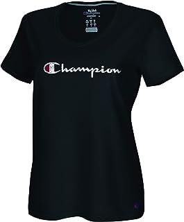 Champion womens Vapor Cotton V-Neck Tee T-Shirt