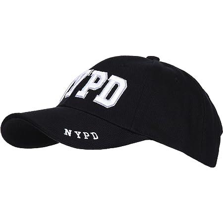 Fostex NYPD Baseball Cap - New York Police Dept Black