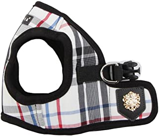 Puppia Authentic Junior Harness B, Medium, Black