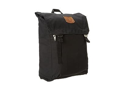Fjallraven Foldsack No. 1 (Black) Backpack Bags
