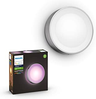 Philips Hue Daylo White & Colour Ambiance Smart Outdoor Wall Light, White, Compatible with Alexa, Google Assistant and App...