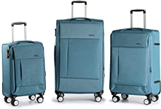 Kenza Drift Softside Expandable Luggage, Built-in TSA Lock with Spinner Wheels