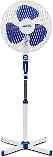 AVANT - Ventilador de Pie Oscilante. Altura Regulable. 45W Movimiento Giratorio con 3 velocidades. Rejilla de Nido de Abeja de 40cm Pie en Cruz
