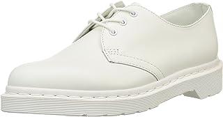 1461 Mono Smooth White, Zapatos de Cordones Derby Unisex Adulto