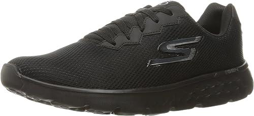 Skechers (SKEES Herren Go Run 400 Fitnessschuhe, Schwarz 43 EU