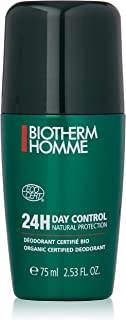 Biotherm 24-Hour Day Control Natural Protection,Roll-On Deodorant Stick for Men, 75ml