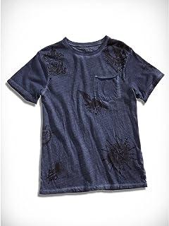 Guess BoysサイズXL (20?) 全面プリントポケットTシャツネイビー