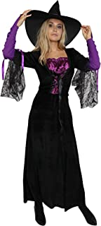 Women's Adults Witch Costume Women Wicked Witch Costumes Halloween Cosplay
