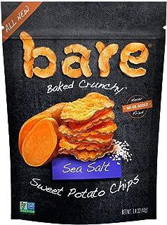 bare Snacks Baked Sweet Potato Chips, Sea Salt, 1.4oz bag