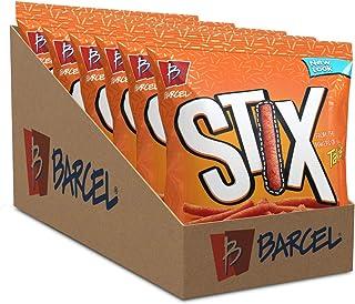 Sponsored Ad - Barcel Stix – Crispy Corn Snacks – Original Flavor (Chili & Lime), 6 Individual Snack Pack Bags (4 oz each)
