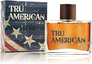Tru American Cologne by Tru Fragrance and Beauty - Natural and Authentic Fragrance Spray Perfume for Men - Fresh, Bold and Masculine Scent - 3.4 oz, 100 ml