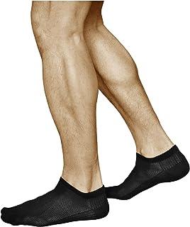 Calcetines Verano Hombre BAMBÚ Muy Respirables Bajos (3 PARES) Efecto de Enfriamiento, Sneaker