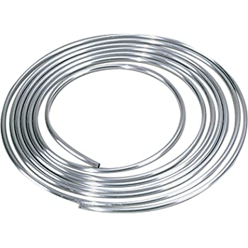 3//8 Inch O.D. Aluminum Coiled Tubing Fuel Line Kit 10 Feet