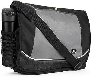 Back to School Bags Messenger Bag Lightweight for College High School Elementary School Black