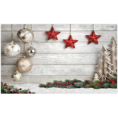 New Photography Background Christmas 7x5 Bokeh Red Backdrop Silver Snowflake with White Floor Newborn Xmas Party Backgrounds Vinyl Photo Studio Backdrops for Holiday
