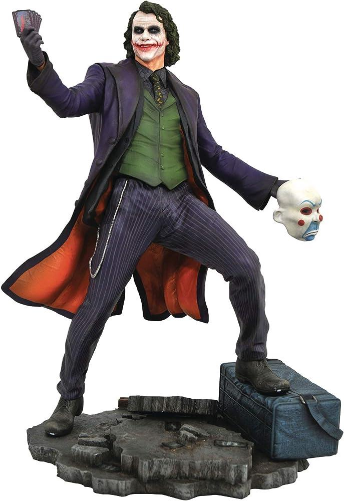 Batman dark knight movie - joker - statua