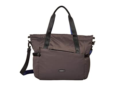 Hedgren Galactic Shoulder Bag/Tote (Galaxy Grey) Tote Handbags