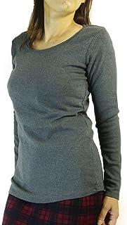 (ケージービー)K.G.B 長袖Tシャツ ロンT カットソー レディース 無地 コットン M/L/LL/3L/4L/オフ白/紺/チャコール/黒
