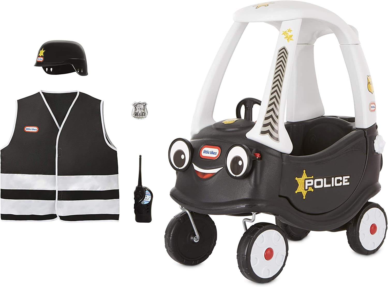 Little Tikes Police Cozy Coupe Themed Role Mul Play Toy Now on sale Ride-On online shop