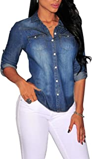 eef98df21b Amazon.it: camicia donna jeans