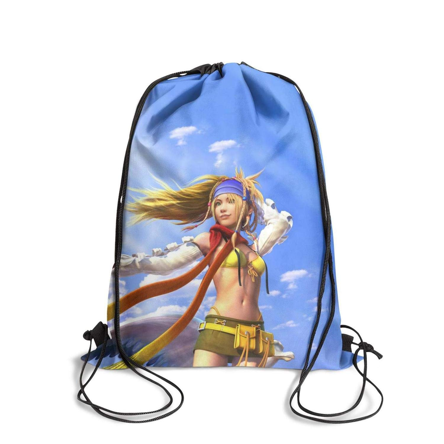 Omenae Drawstring Backpack Bags Sports Cinch Sack String Backpack Storage Bags for Traveling Gym Yoga Storage-Popular Game