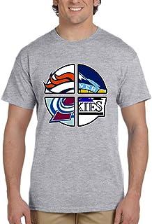 UNAMEIT Colorado 4 Teams T-Shirt. Colorado Sports Tshirt. Colorado Inspired Tee.