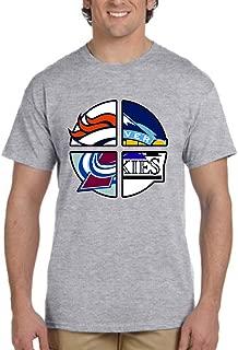 Colorado 4 Teams T-Shirt. Colorado Sports Tshirt. Colorado Inspired Tee.