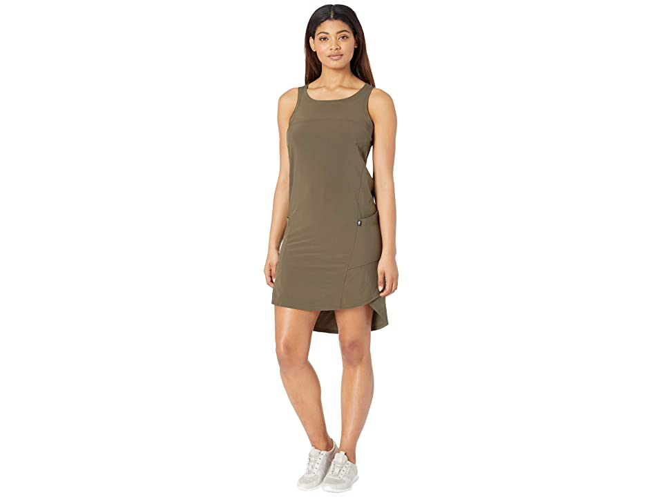 The North Face Dawn Break Dress (New Taupe Green) Women