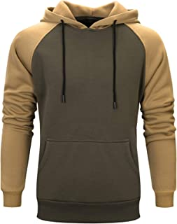 Mogogo Men's Pure Color Hooded Couples Winter Sweater Hoodie Top