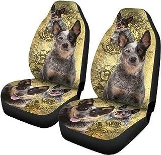 PetOcean Dog Car Seat Cover - 100% Waterproof, Scratchproof, Nonslip, Durable Heavy Duty Hammock Dog Car Back Seat Cover, ...