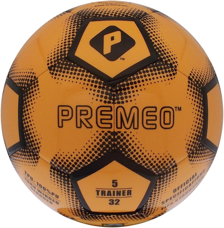 Premeo TPU -tränare Fotboll Yello guld Storlek 5 5 5 FERTRADE  online shopping sport
