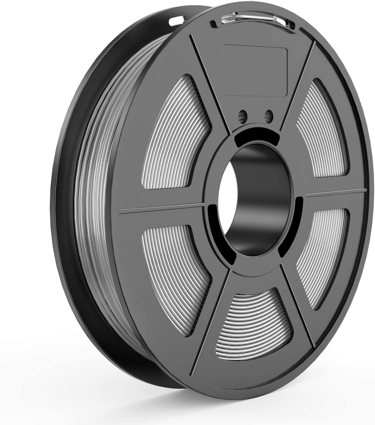 TECBEARS TPU 3D Printer Filament 1.75mm Gray, 95A Shore Hardness, Dimensional Accuracy +/- 0.03 mm, 0.5 Kg Spool, Pack of 1