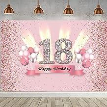 Suchergebnis Auf Für Dekoration Girlande 18 Geburtstag